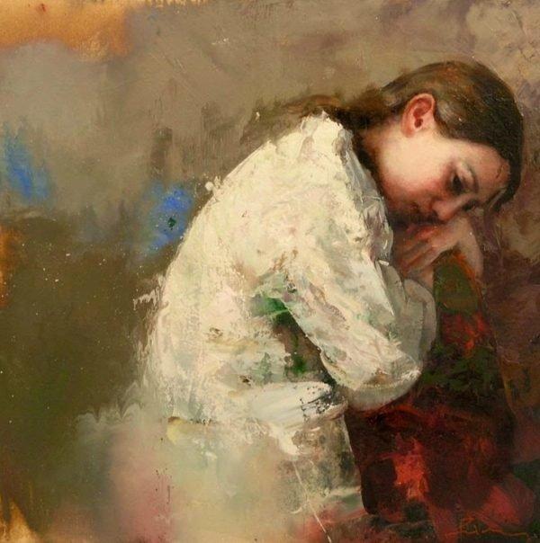 Картинки печаль от художников
