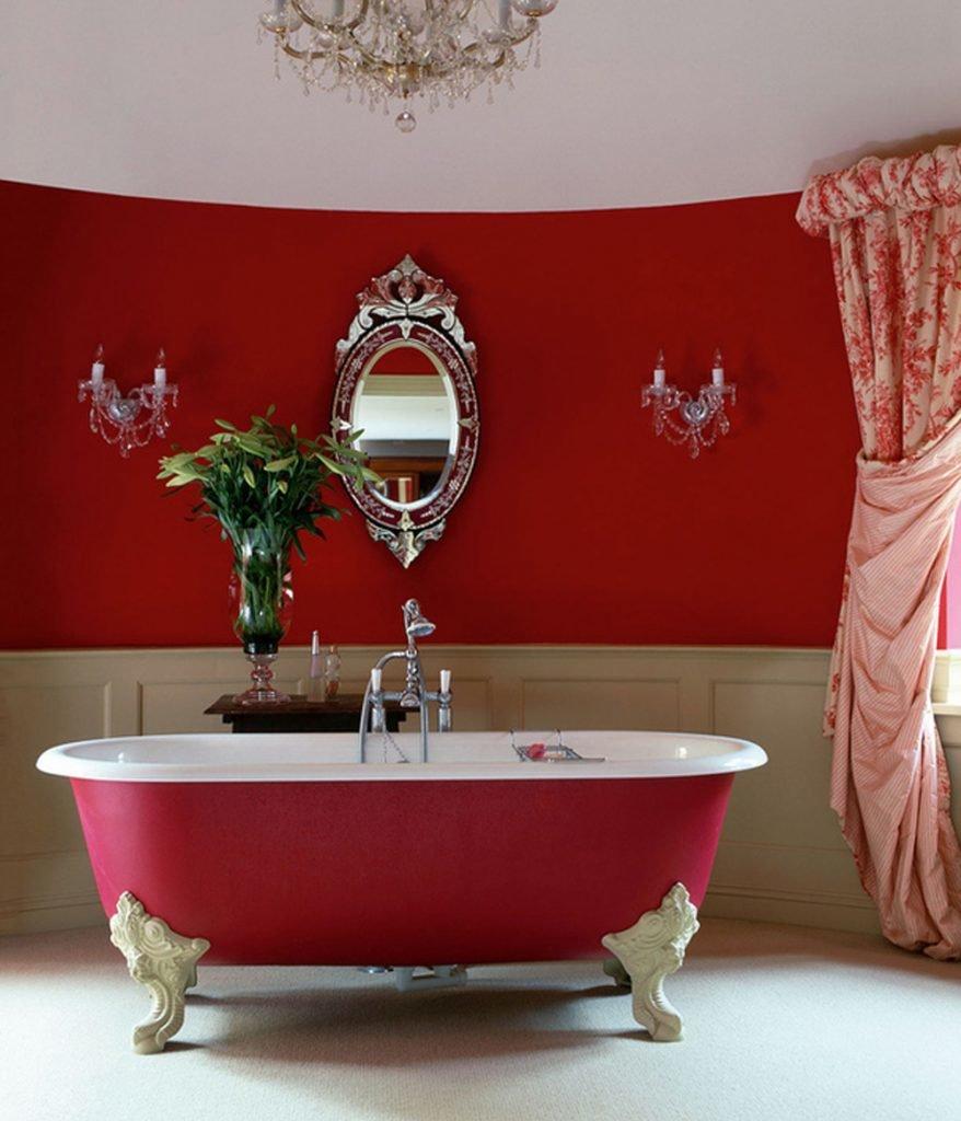 онлайн Потап интерьер мебели в ванной в бордовом цвете включении выключении одной