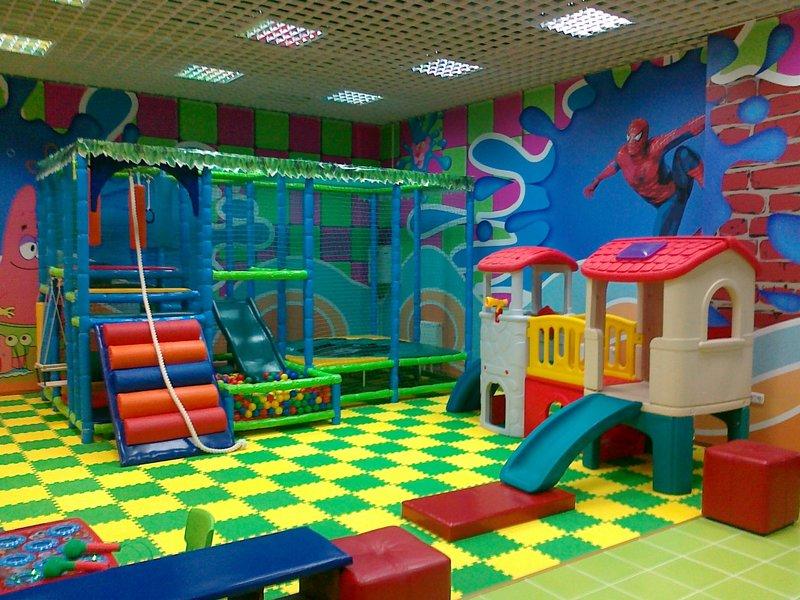 не большой детский развлекательный центр открыть комфортом удобством использования