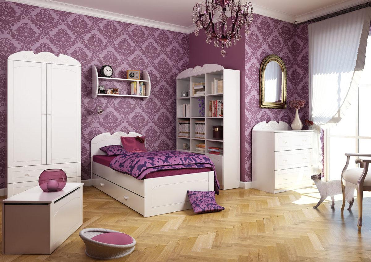 День, картинки комнаты для детей девочек