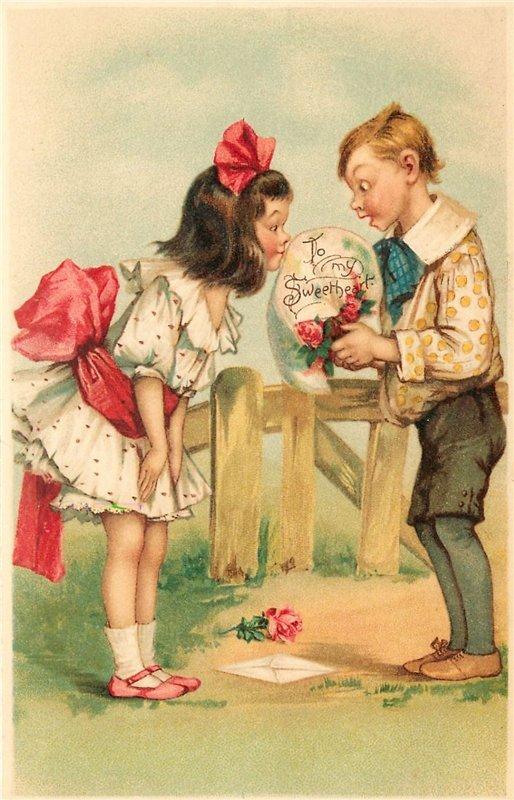 Надписью, открытки дружбы ретро