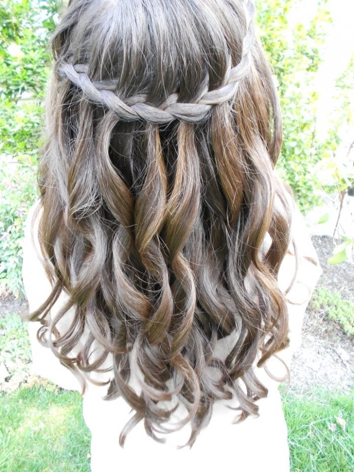 картинки водопад из волос