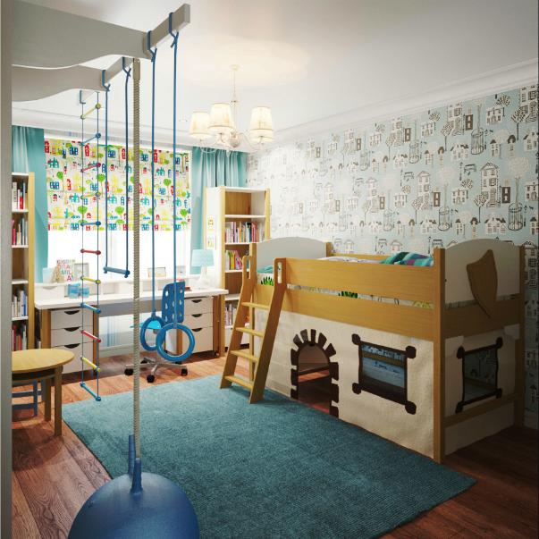 Какой должна быть детская комната школьника и как её обустроить с учётом возрастных групп, рассказала АРХДИАЛОГУ Наталья Наумова, директор «Дизайн-Бюро Натальи Наумовой».
