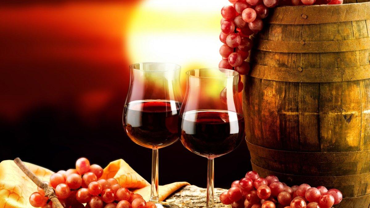 Открытки арт, вино в открытках