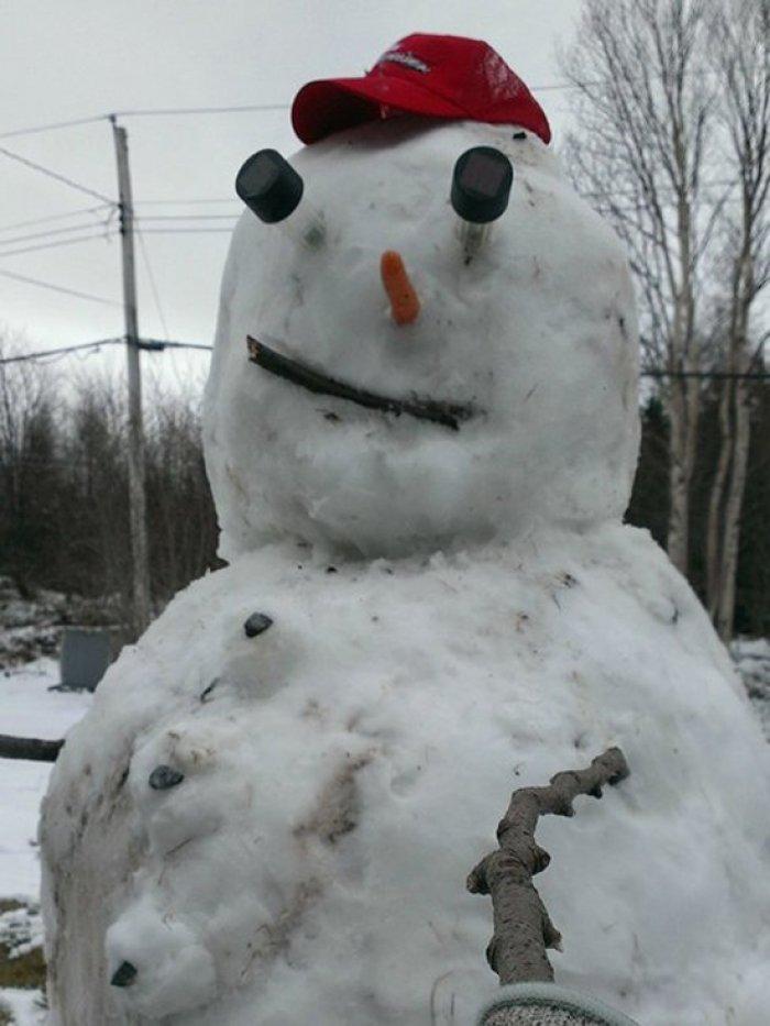 юморной снеговик картинки нанайском районе построили
