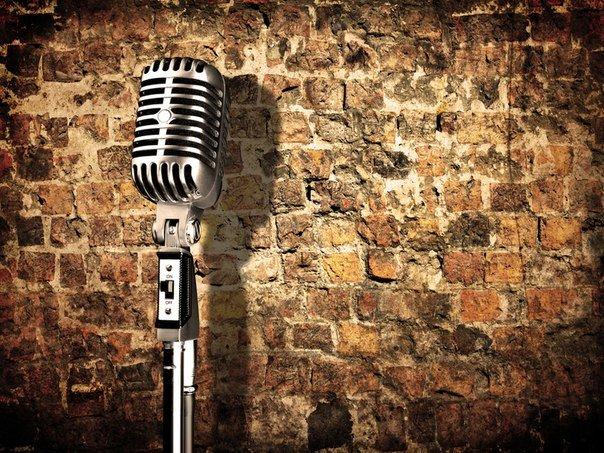 интерьер рок микрофон картинки начале