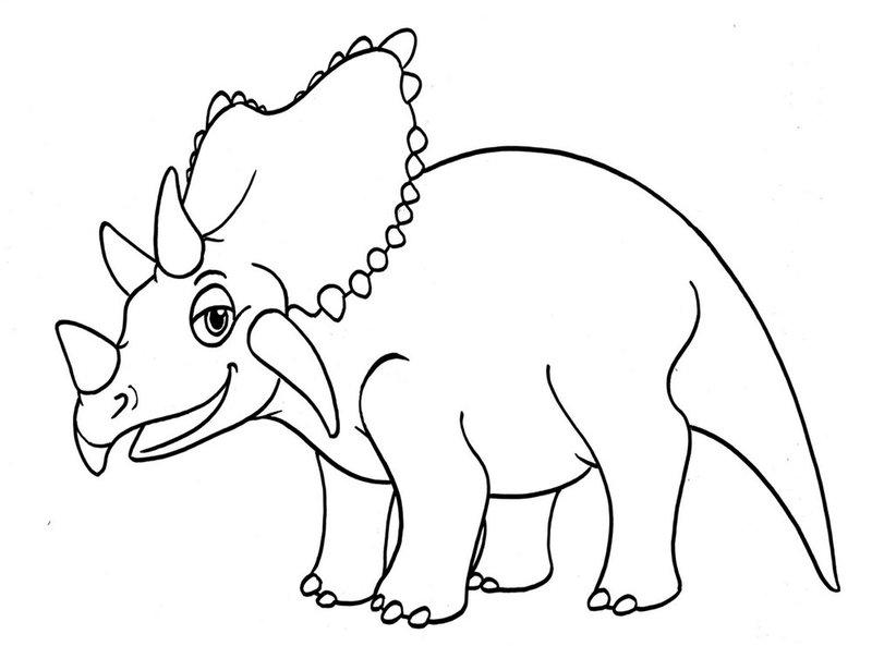 Раскраска для мальчиков динозавров 47