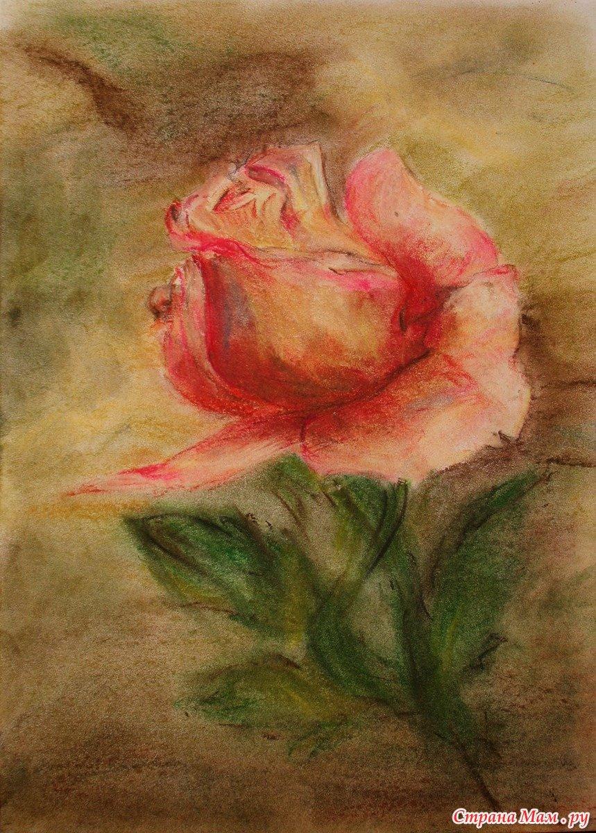 сегодня как нарисовать открытку пастелью яна обладает прекрасной