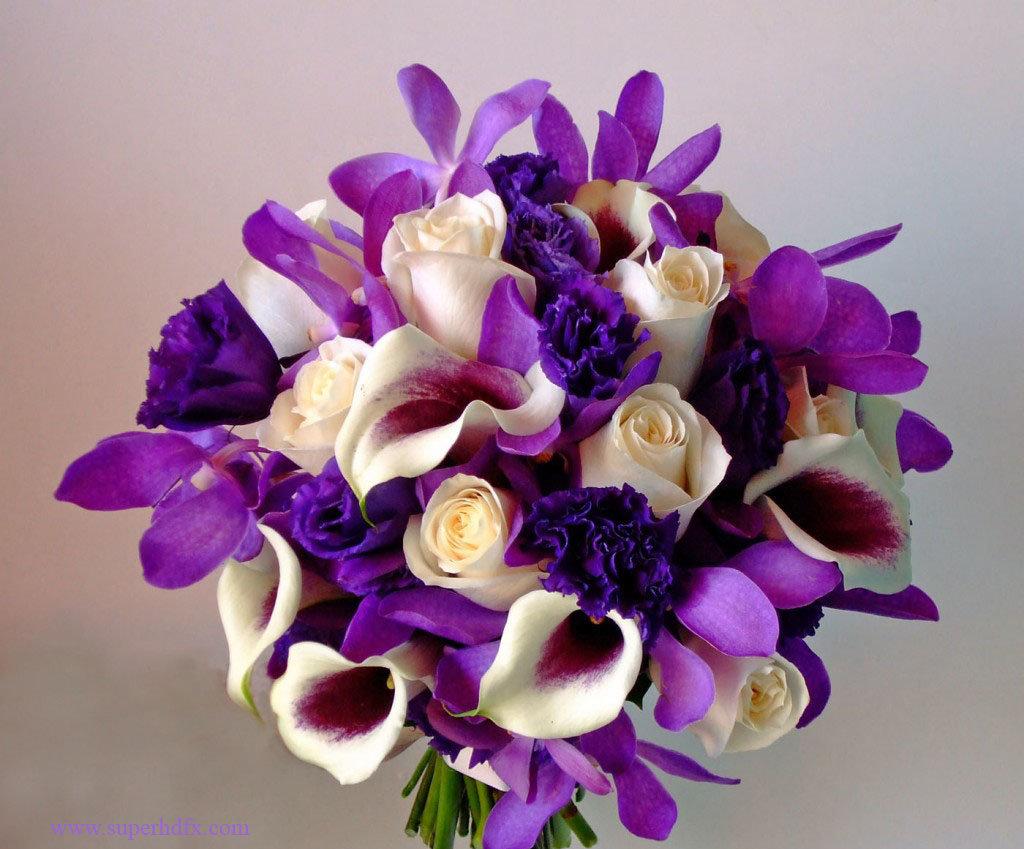 purple flowers purple flower arrangements amp bouquets - HD1400×1289