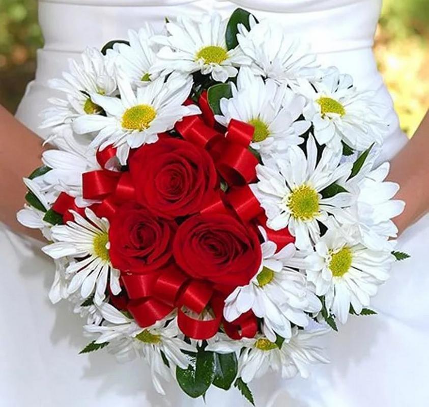 Букет из 150 роз и ромашек своими руками, февраля картинки