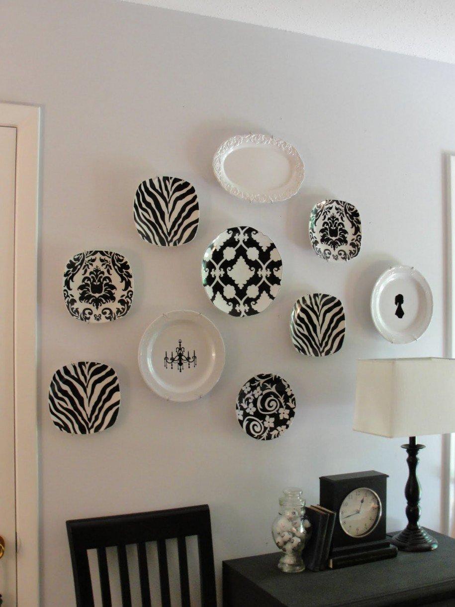 Черно белые картинки декор