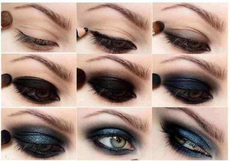 дымчатый макияж глаз пошаговая инструкция
