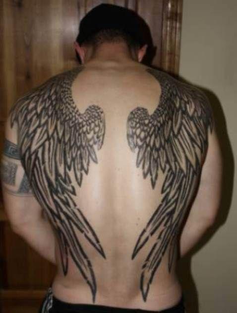 Татуировки на спине фото эскизы мужские