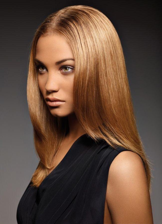 волос фото цвет карамель