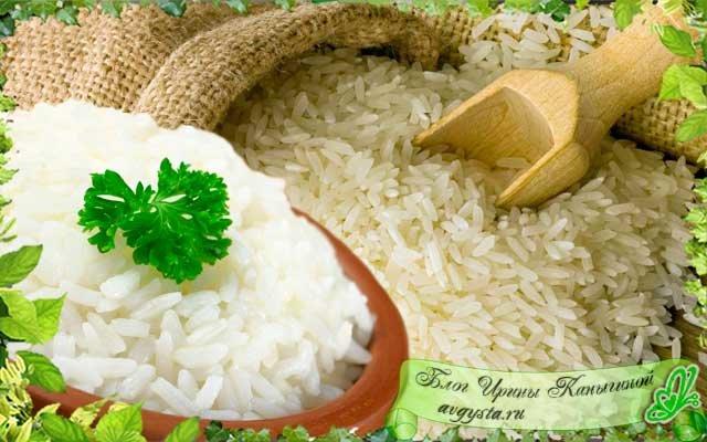 как правильно отварить рис на гарнир