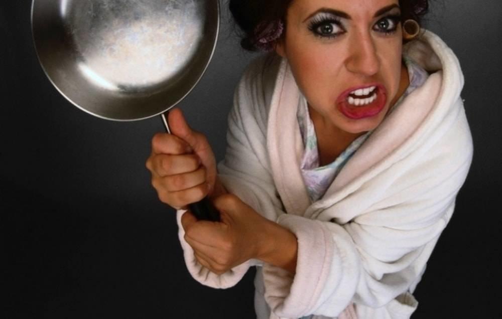Для мамы, смешные картинки со сковородкой