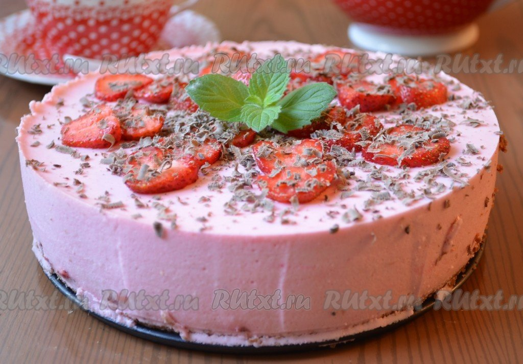 Торт из йогурта и творога