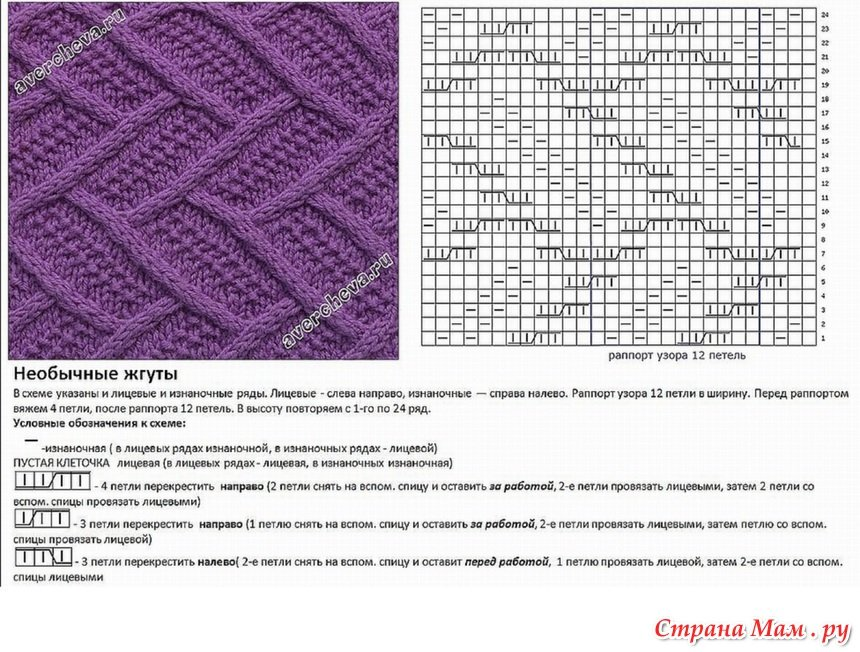 цитрон картинки спицами с описанием и схемами потом