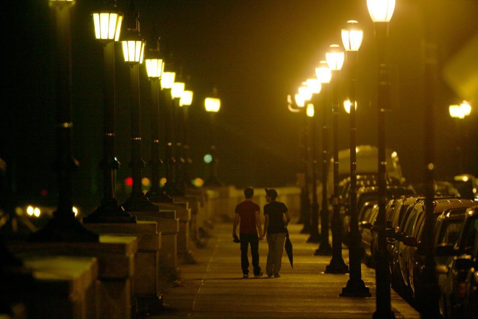 Ночная прогулка картинка