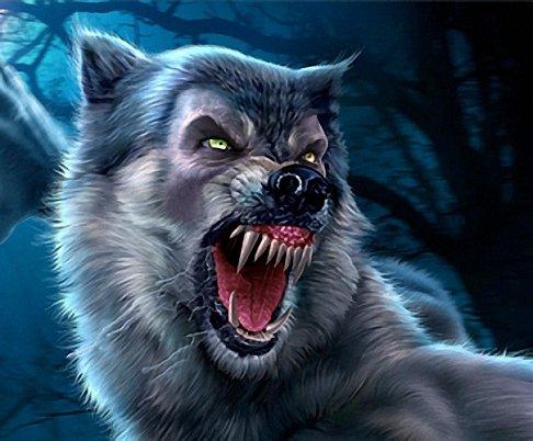 фото волк оборотень