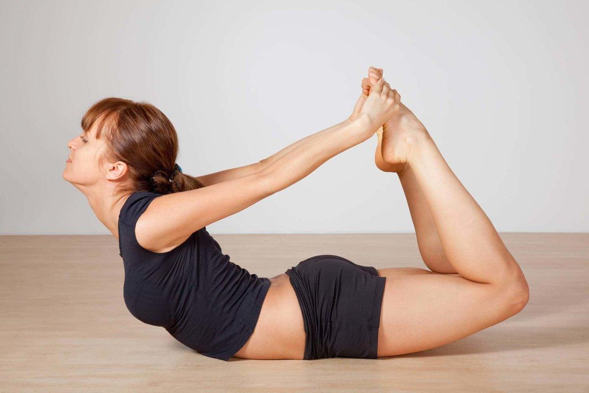 Для похудения ног йога