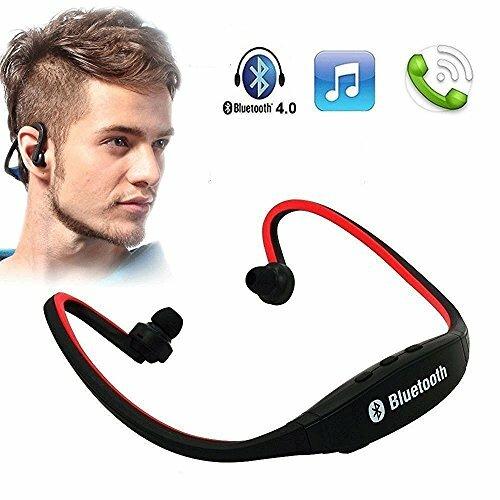 Maxxlite Bluetooth Headset & TF Card MP3 Player Neckband - D
