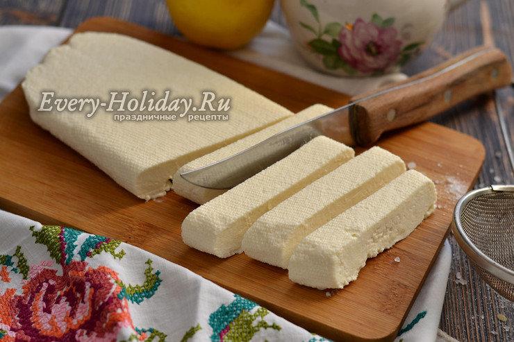 молоко Домашний кефир лимон сыр