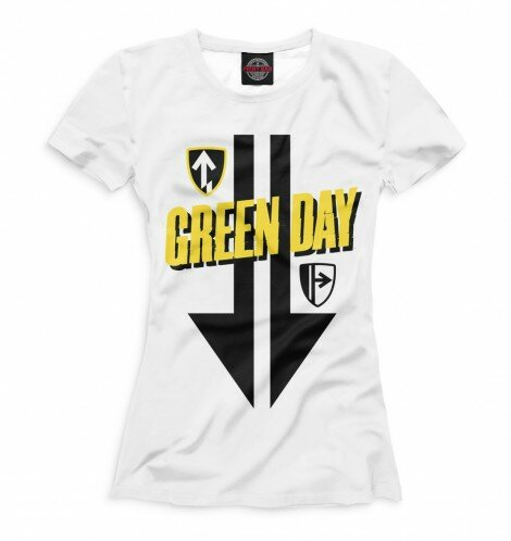 Футболка для девочек Green Day