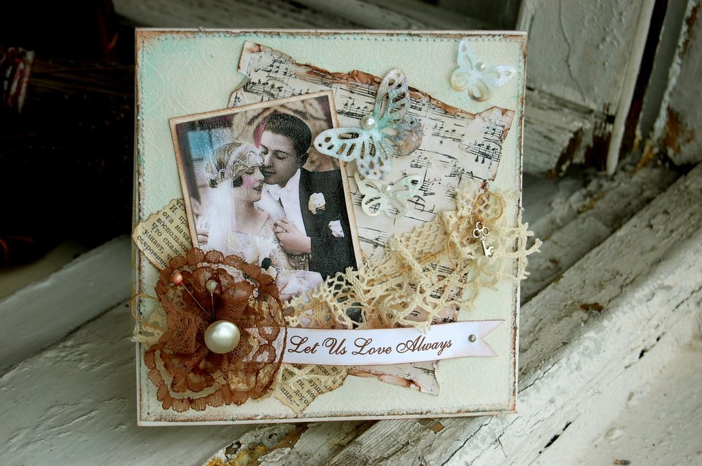 Создание открытки из фото