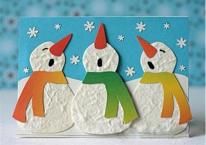 Года, открытка на тему зима 2 класс