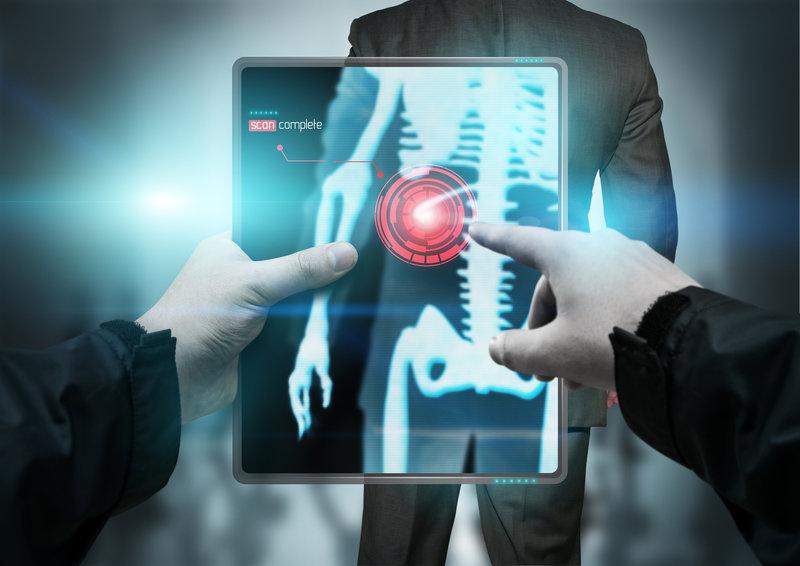 Рентген человека с помощью специальных устройств