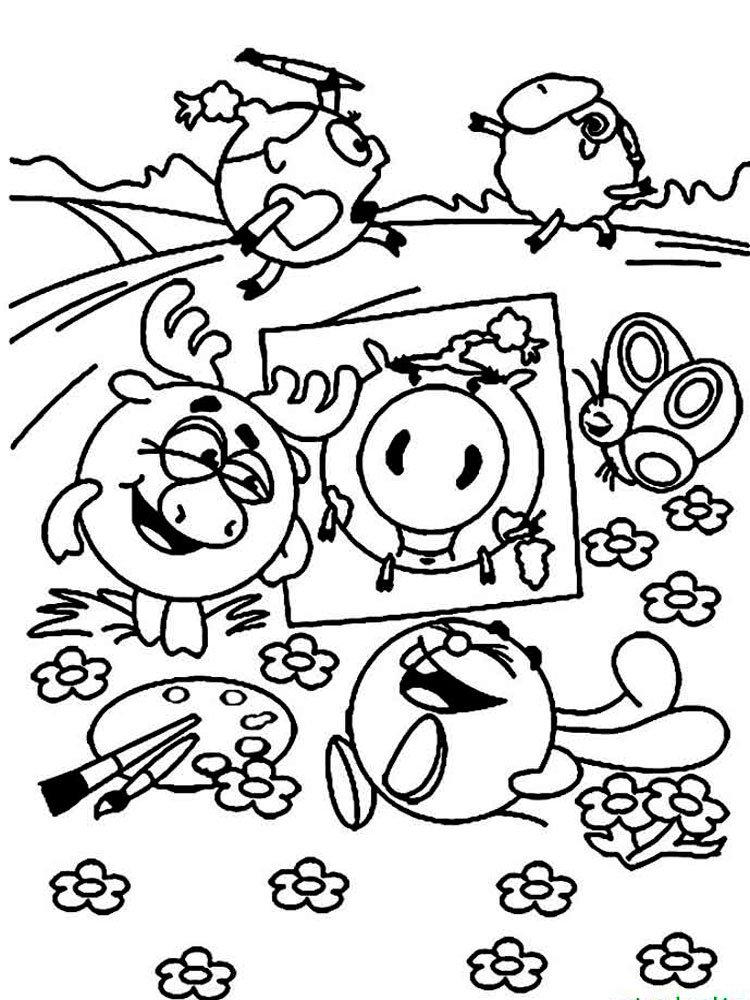 «Раскраска - Смешарики на отдыхе» — карточка пользователя ...