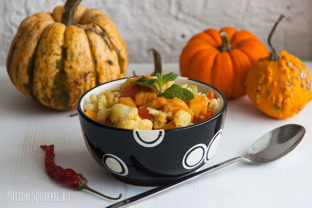 блюда из тыквы рецепты с фото простые детей белых колпаках