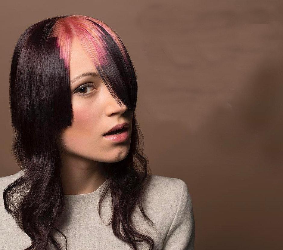окраска волос картинками