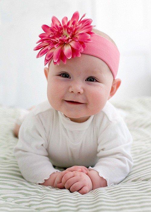 Картинки новорожденная девочка с бантиком, открыток рождеством картинка