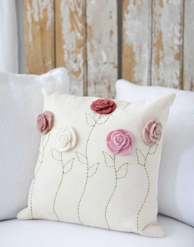 Декоративные подушки своими руками мастер класс схемы фото 78