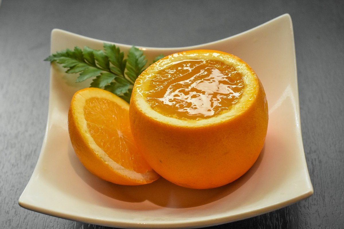 Картинки из апельсинов