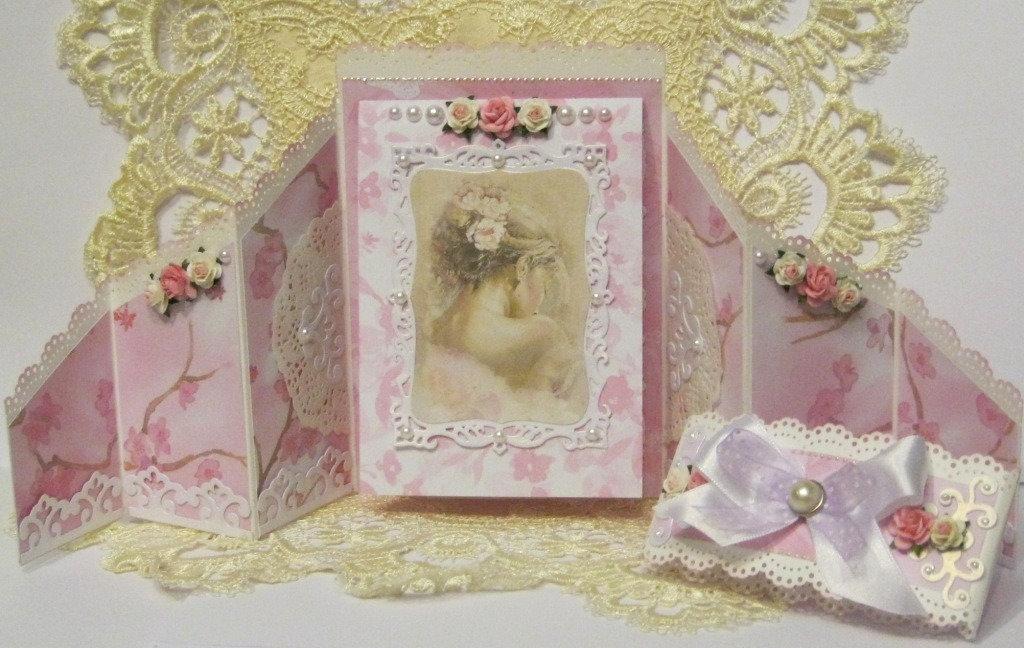 Женщине лет, открытки сложной формы в скрапбукинге