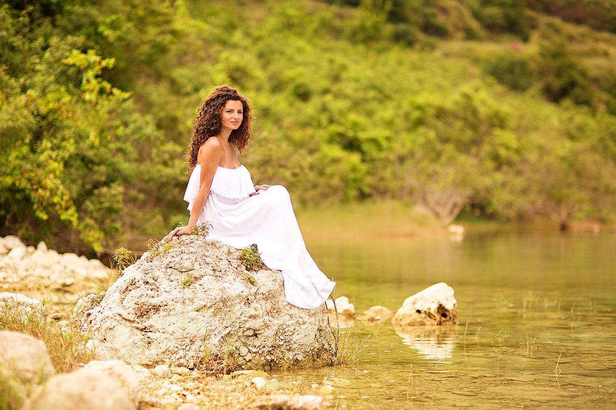 всех днем образ для фотосессии на природе летом легкости, прозрачности невесомости