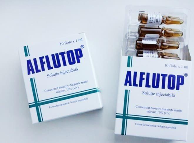Как правильно колоть алфлутоп при остеохондрозе
