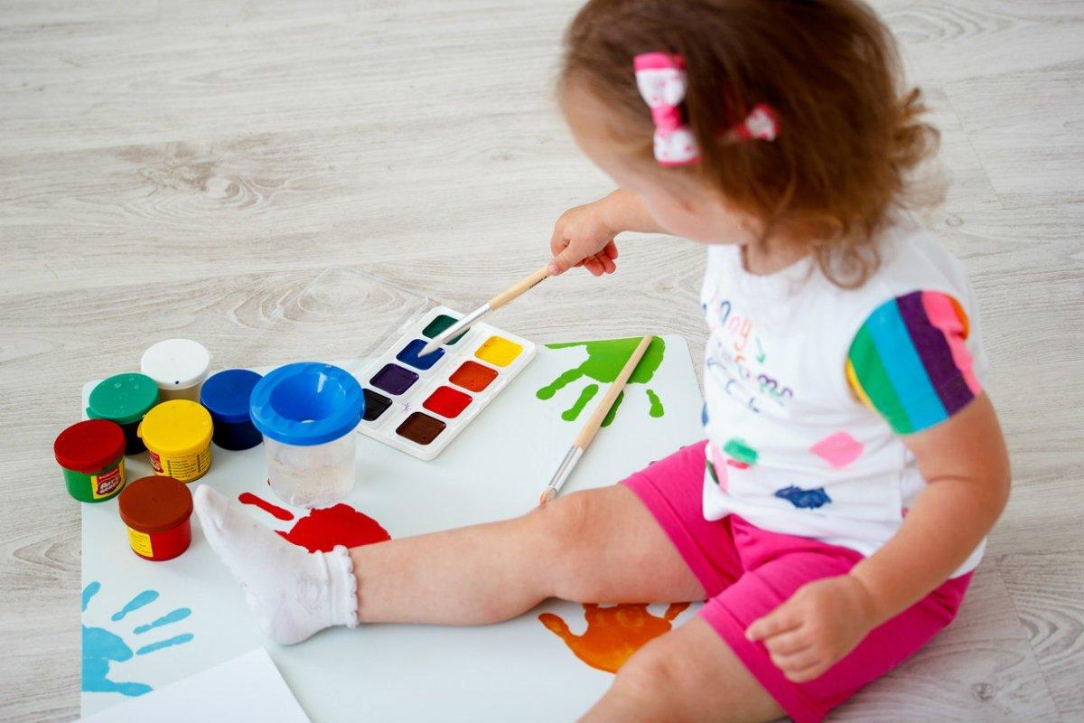жители краски для малышей картинки считают эту позу