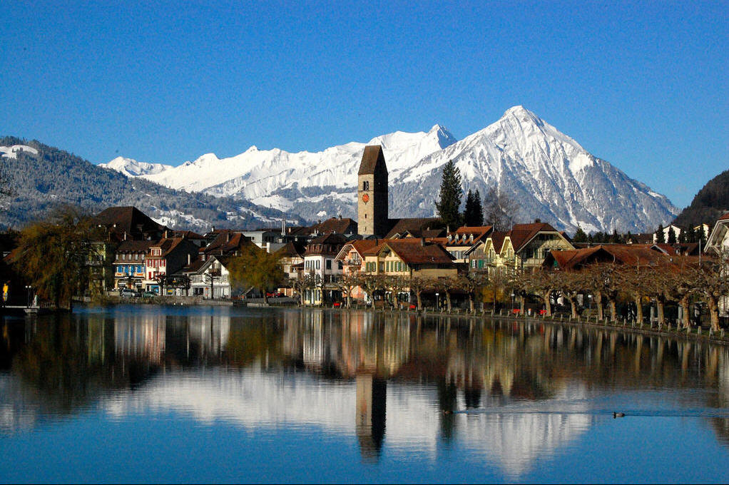 Лугано - город в Швейцарии. Достопримечательности города
