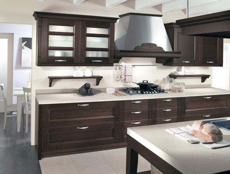 Для оформления кухонь необходимо учитывать не только оригинальность дизайнерского решения, но и необходимую функциональность.