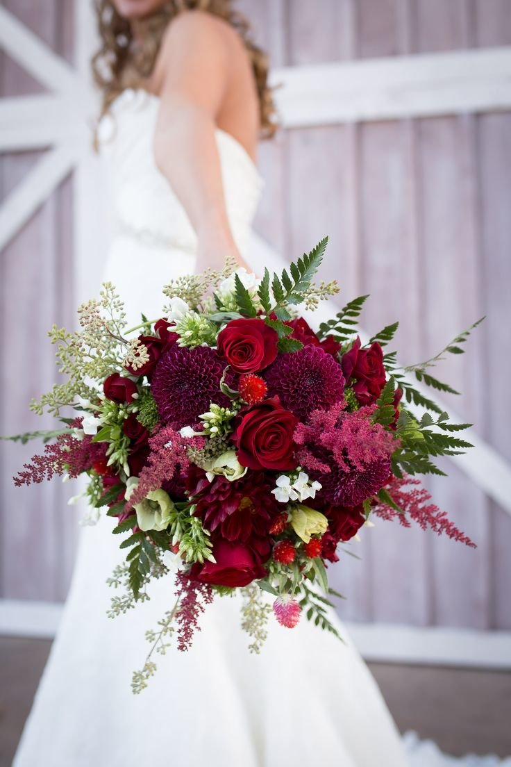 Красный цветы для свадебного букета названия, упаковать