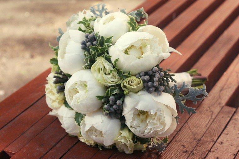 Букет букет невесты фото пионы, цветов