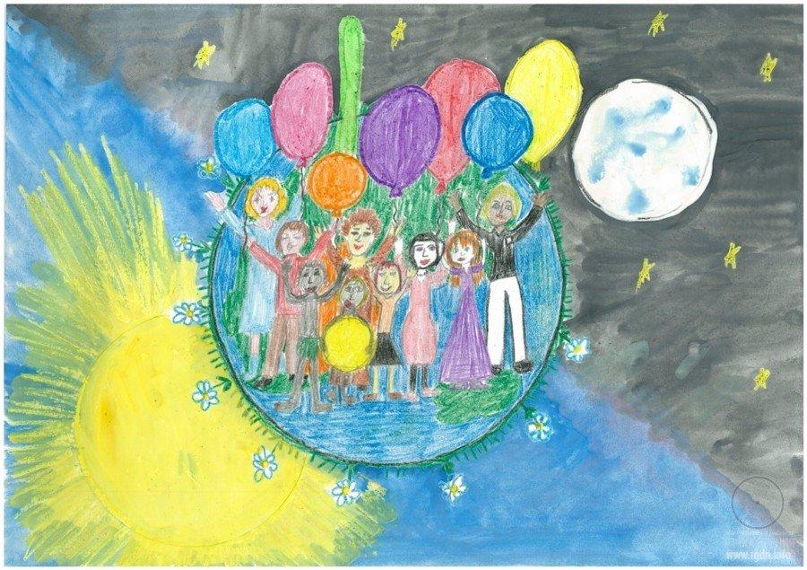 Открытки глазами детей, открытке подруге