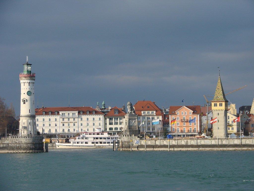 Столица западной земли Форарльберг, город Брегенц, всего третий по населению в этой провинции