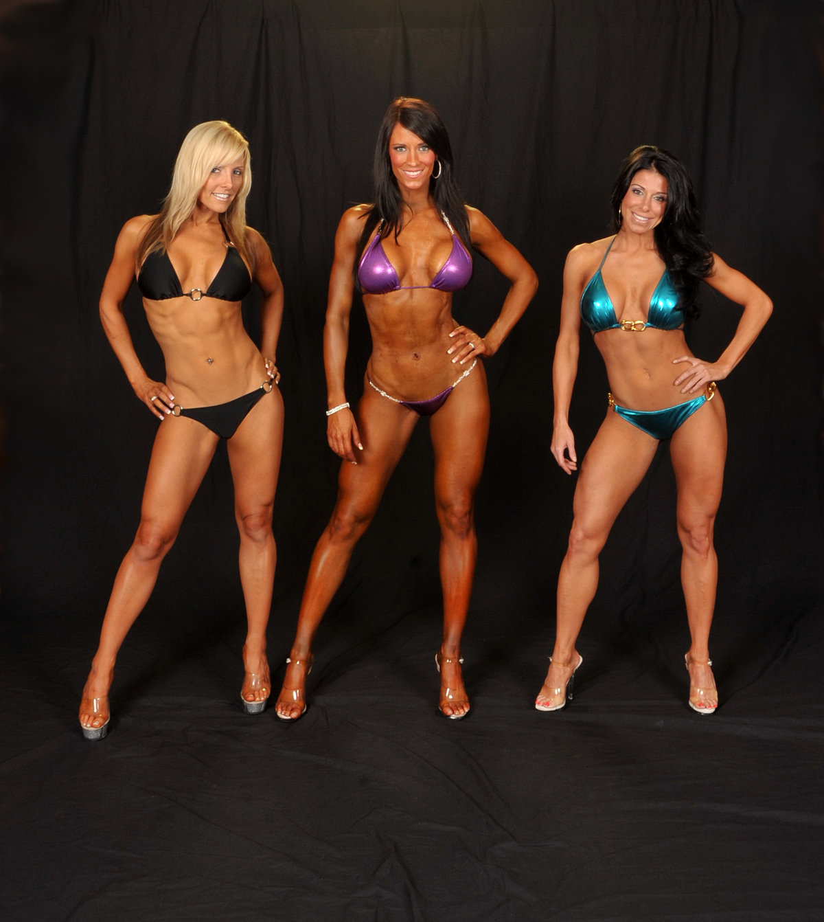 Bikini fitness girls model contest 13