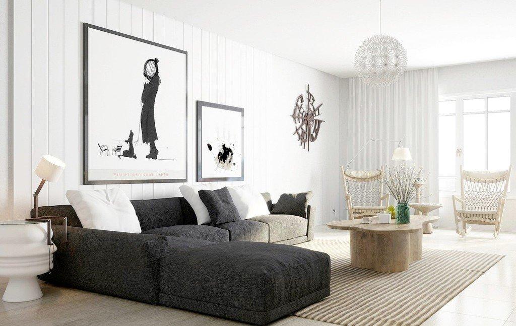 Черно-белые фотографии для интерьера