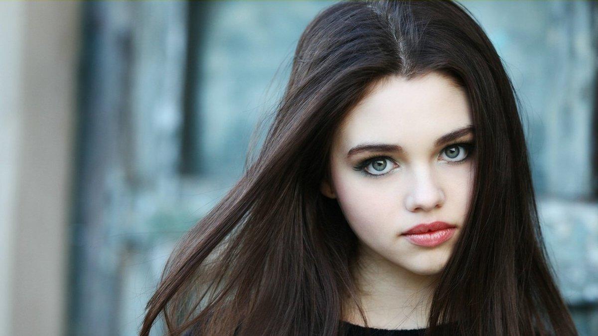 самые красивые девушки с черными волосами тогда вообще вам